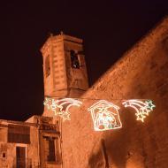 Torà: Plaça de l'Església  Ramon Sunyer