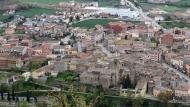 Torà: Vista del poble des de l'Aguda  Ramon Sunyer