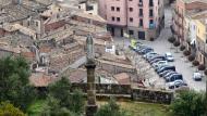 Torà: Vista de Torà des de la Creueta  Ramon Sunyer