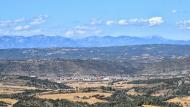 Torà: Vista de Torà des de Vicfred  Ramon Sunyer