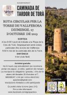 cartell Ruta circular per la torre de Vallferosa