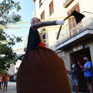 Torà: Presentació dels nous gegants de cal Cardoní  Ramon Sunyer