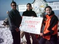 Aneto: Excursionistes de Torà pugen a l'Aneto en suport als detinguts  Xavier Sunyer