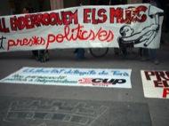 Terrassa: Concentració davant l'Ajuntament  Alerta Solidària