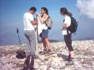 : Excursionistes de Torà pugen al Gespeguera en suport als detinguts  Xavier Sunyer