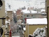 Igualada: Vista general amb la muntanya del Pi al fons  Ramon Sunyer i Balcells