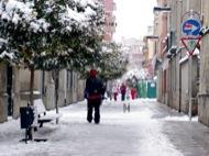 Igualada: Detall del carrer sant Magí  Ramon Sunyer i Balcells