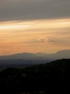 L'Aguda: Posta del sol al Montsec  Ramon Sunyer