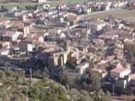L'Aguda: Vista general de Torà des de l'Aguda  Ramon Sunyer
