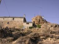 L'Aguda: Restes de l'antiga torre del castell  Ramon Sunyer