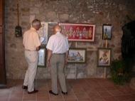 Torà: Exposició de Pintures de Sebastià Coy  margarita bolea