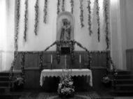 Torà: Detall de l'altar del Roser  Josep Gatnau