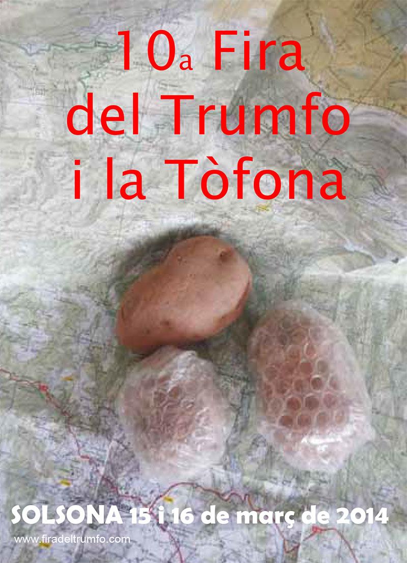 cartell 10a Fira del Trumfo i de la Tòfona