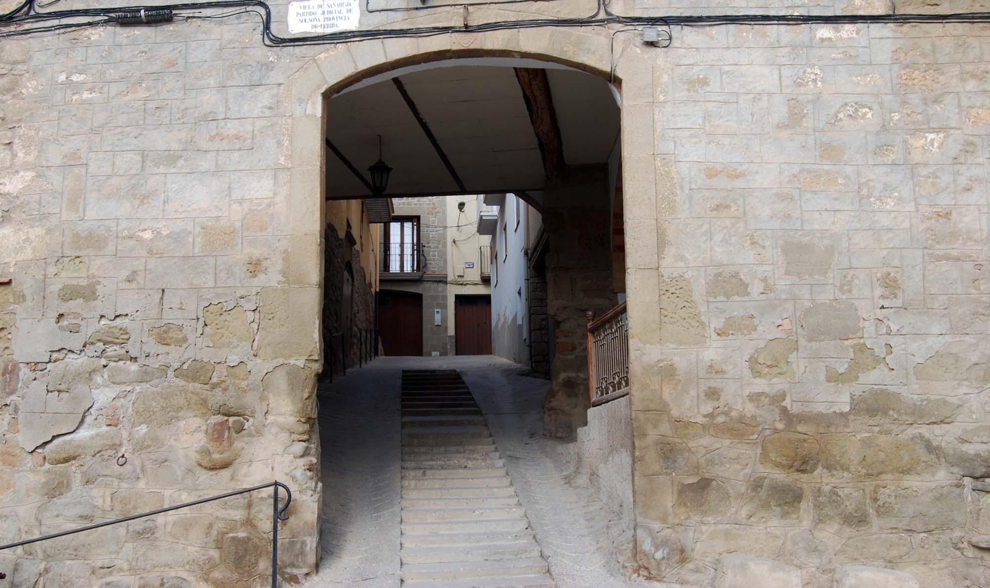 Espacio  Portal de la baixada de Sant Roc