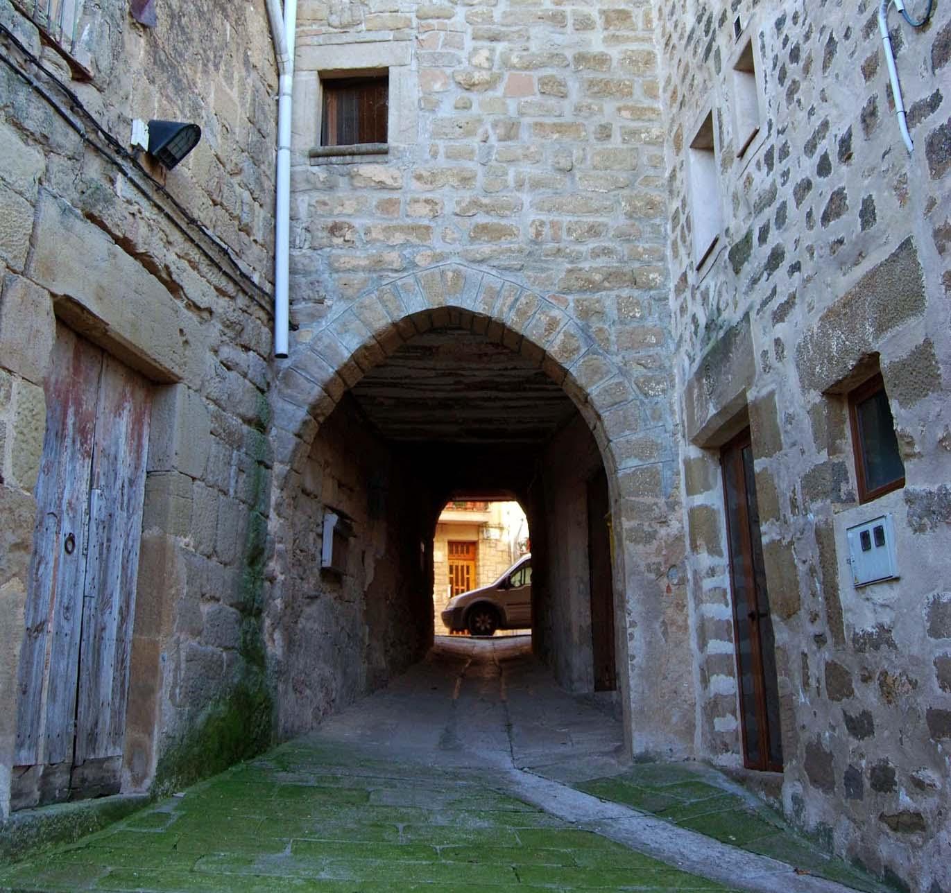 Walled town Palou