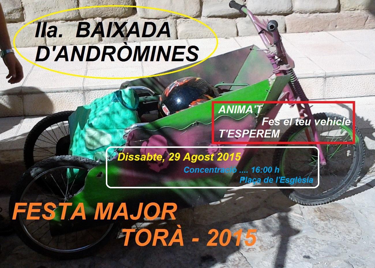 cartell II Baixada andròmines