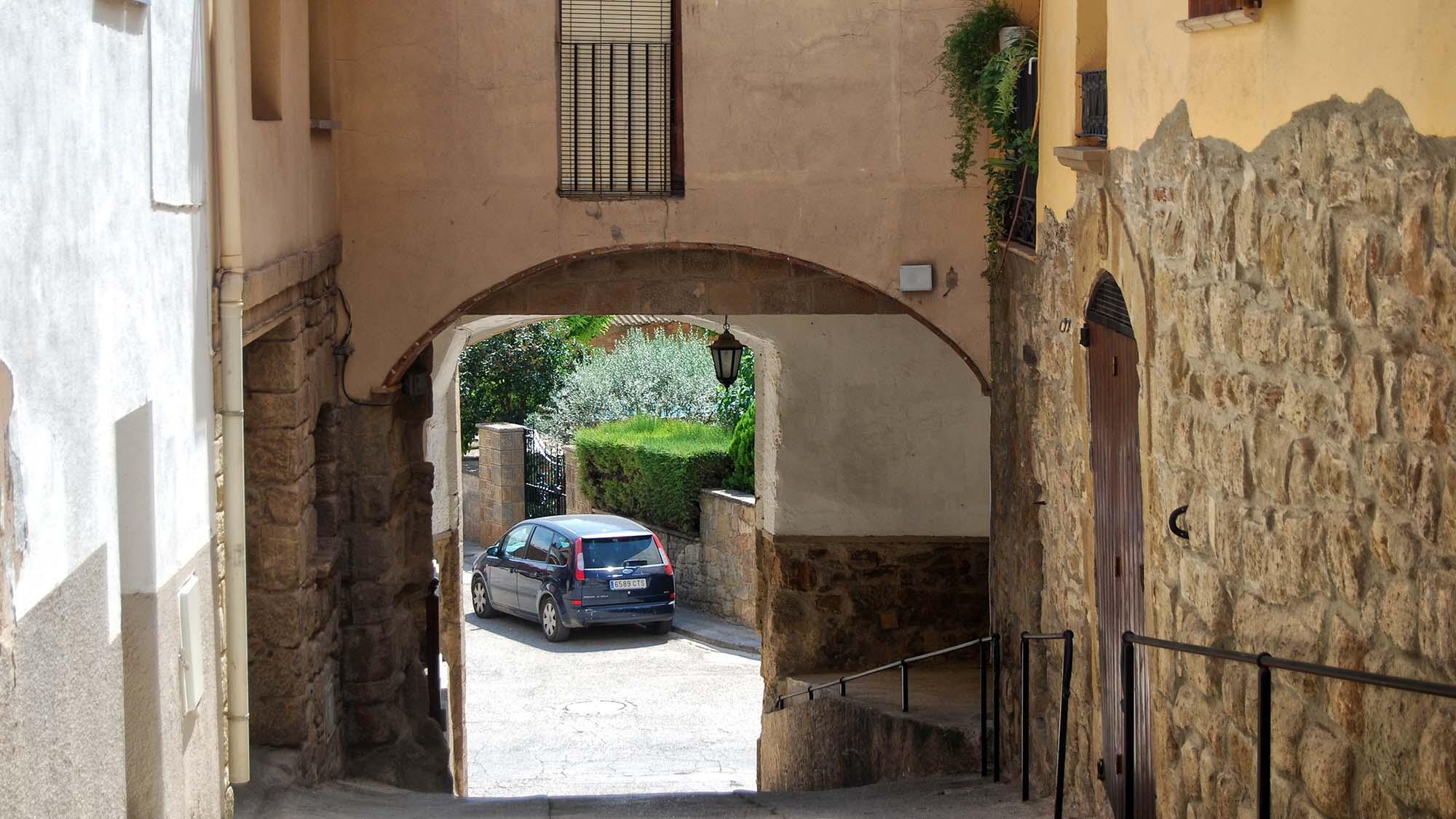 Espai  Portal de la baixada de Sant Roc