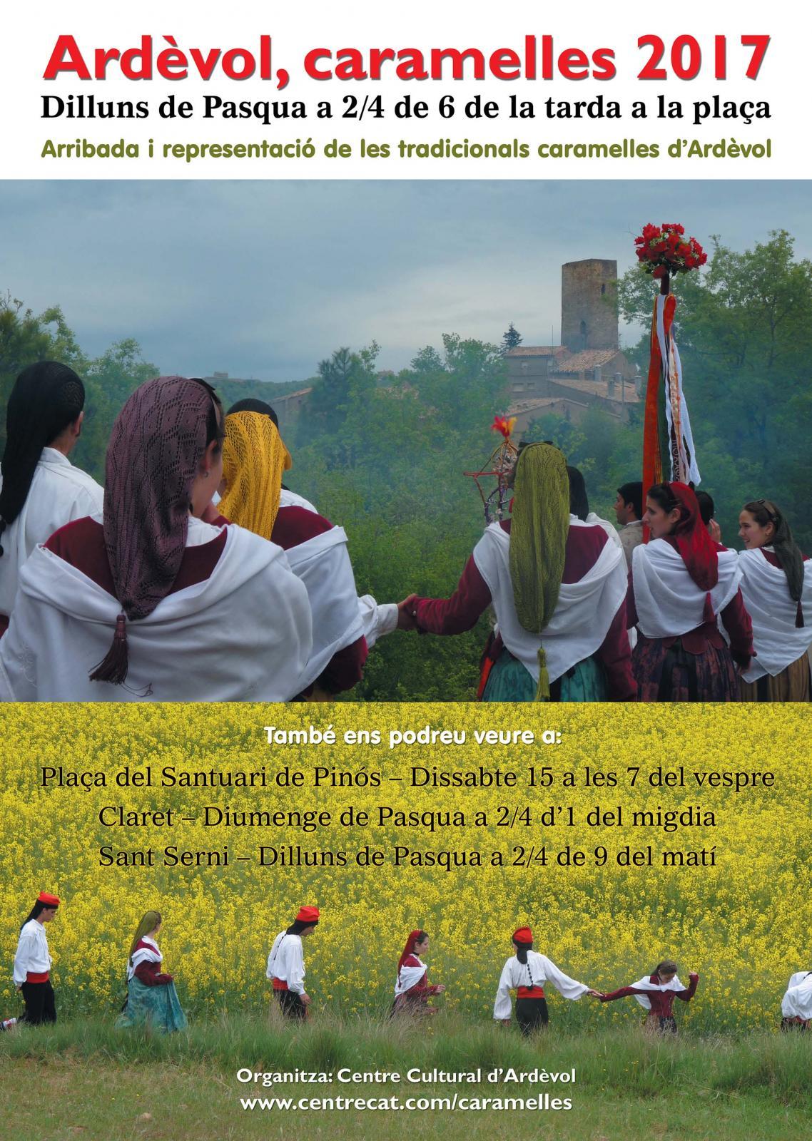 cartell Caramelles d'Ardèvol 2017