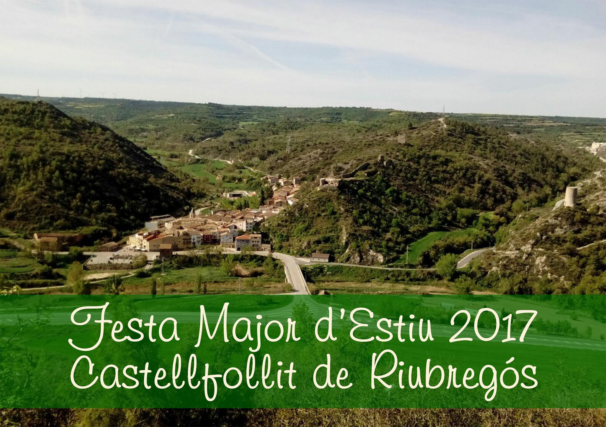cartell Festa Major Castellfollit 2017