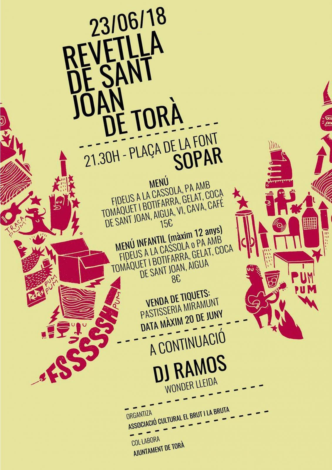 Revetlla de Sant Joan a Torà