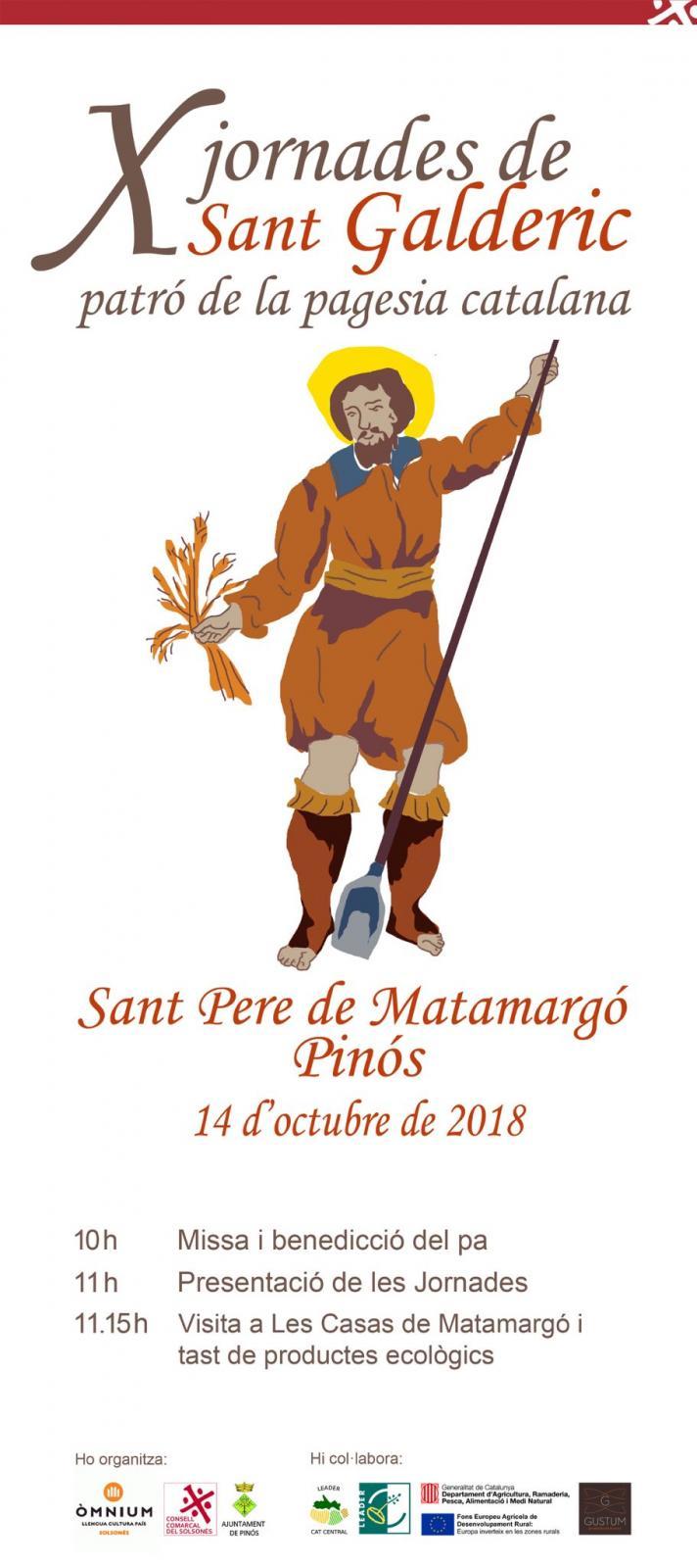 X Jornades de Sant Galderic