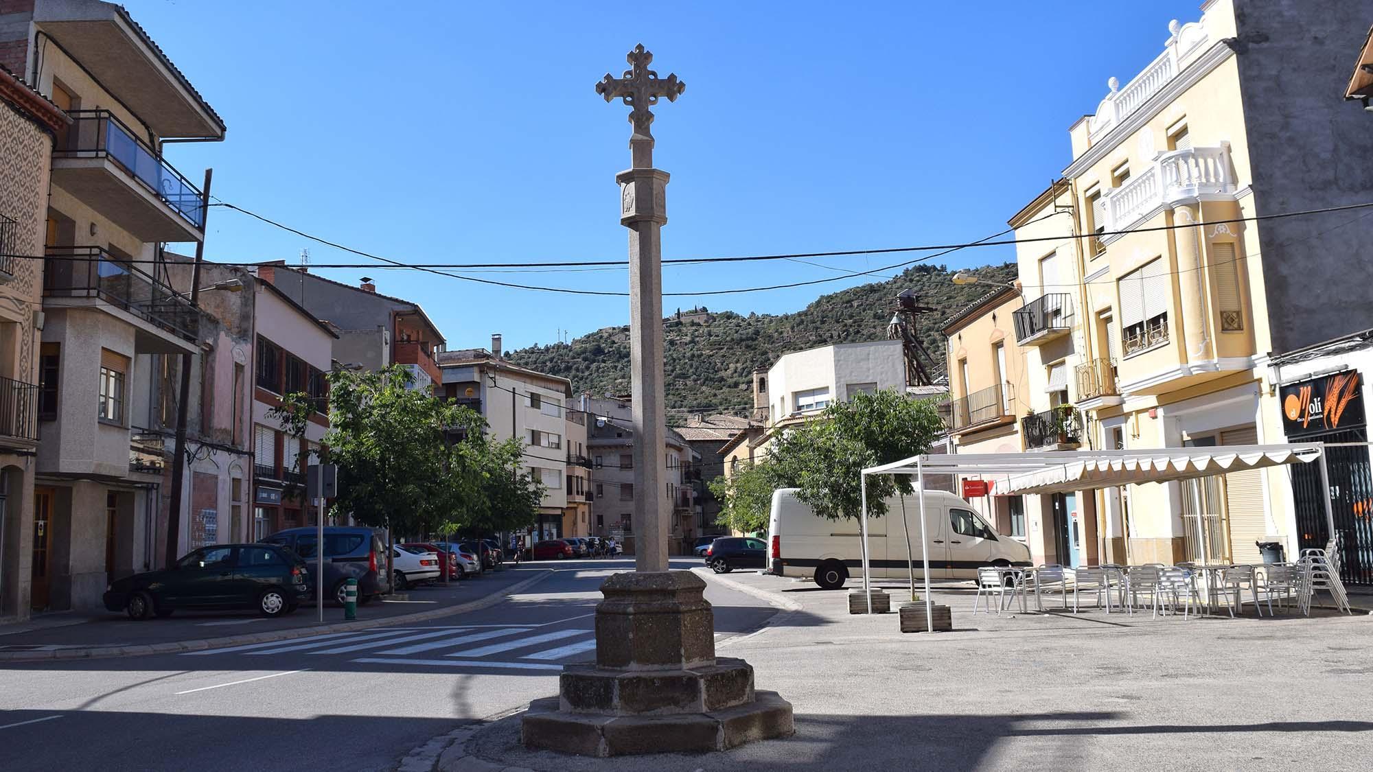 Cruz de término Sant Ramon