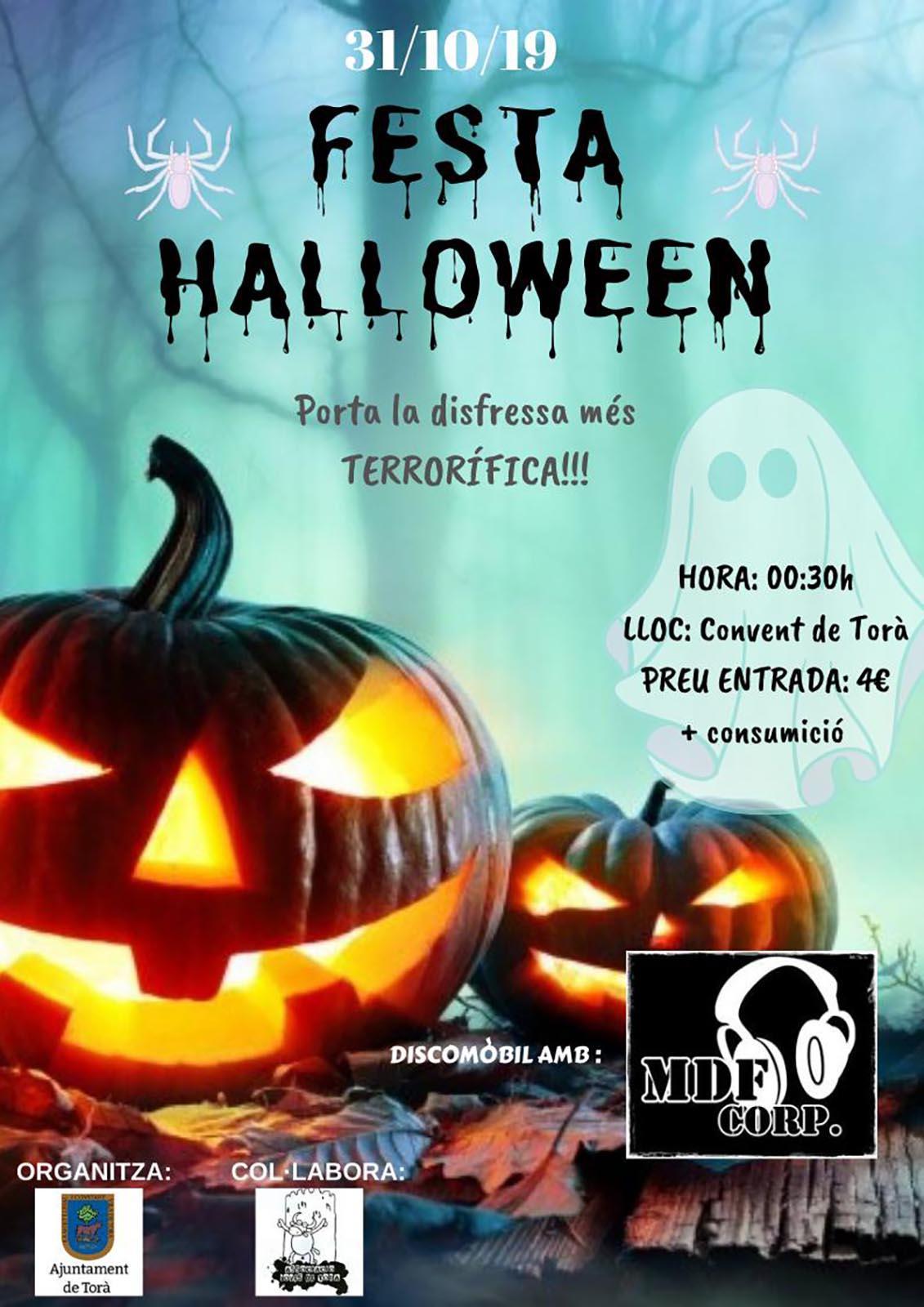 cartell Festa Halloween